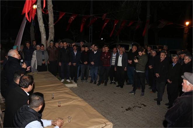 Erdemli Belediye Başkanı Tollu'dan Üçtepe ve Çiriş'e Ziyaret