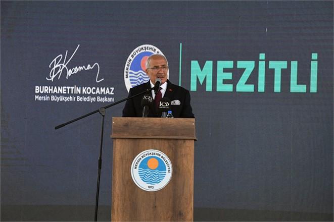 Mersin Büyükşehir'den Mezitli'ye Büyük Projeler