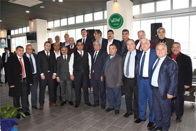Cumhur İttifakı Tarsus Belediye Başkan Adayı Şevket Can'a Odalardan Tam Destek