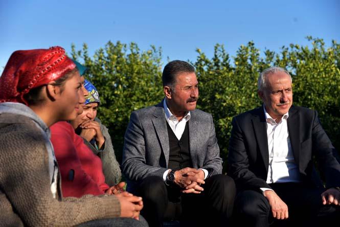 """Başkan Tuna; """"Hizmet Anlayışımız Yapboz Projeler Değil"""""""