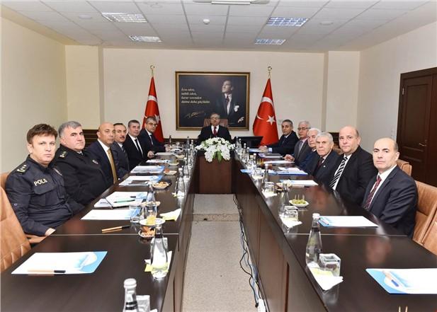 Mersin'de Yükseköğretim Güvenliği Koordinasyon ve İşbirliği Toplantısı