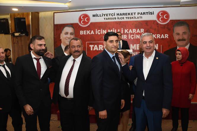 Mersin Tarsus'ta İYİ Partili 297 kişi MHP'ye geçti