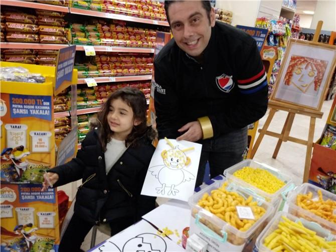 Mezitli'de Cheetos Tasarım Atölyesi Kuruldu