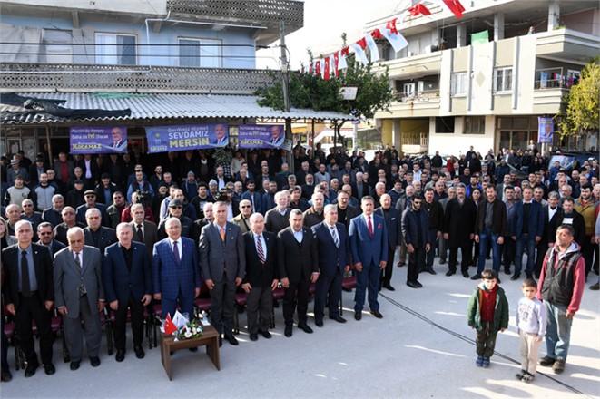 Mersin Büyükşehir'in Akdeniz'e Yaptığı Hizmetlerin Açılışı Yapıldı, Akdeniz İlçesinde Hizmet Atağı Devam Ediyor