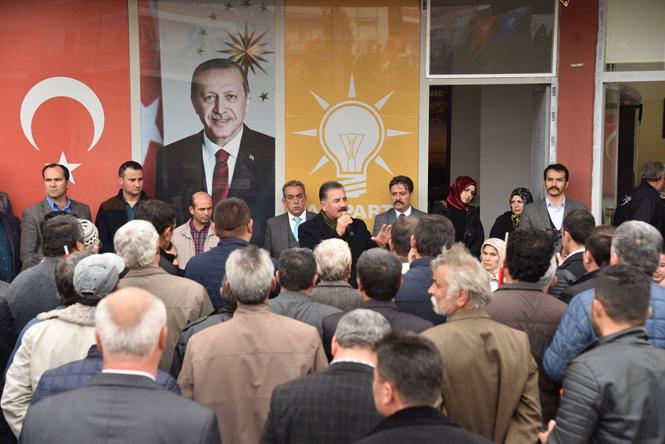 """İttifakın Mersin Adayı Başkan Tuna; """"Aydıncık, Bozyazı ve Anamur'u Turizmin Cenneti Yapacağız"""""""