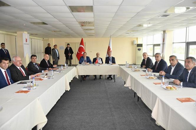 Çukurova Fuarcılık A.Ş. Genel Kurul Toplantısı Yapıldı, Toplantıya TSO Başkanı Koçak'ta Katıldı