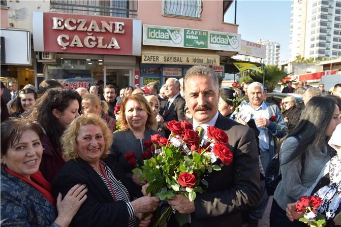 """Başkan Tuna; """"Bu Kenti Sevgiyle Büyüteceğiz"""""""