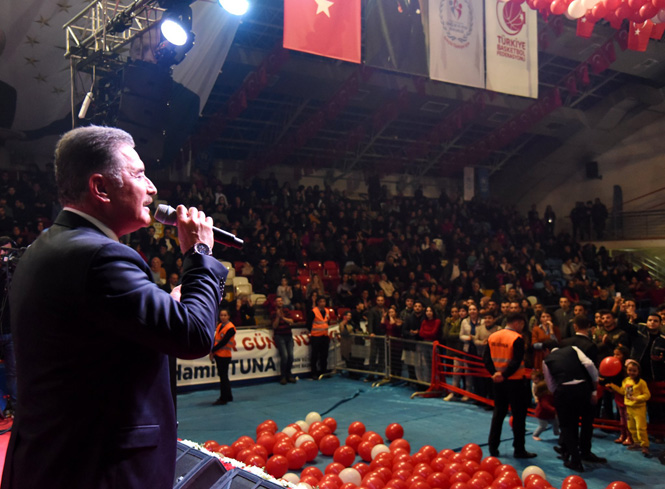 """Cumhur İttifakı Mersin Adayı Başkan Tuna; """"Sevginin Olduğu Her Yerde İşin Sonu Hayrolur"""""""