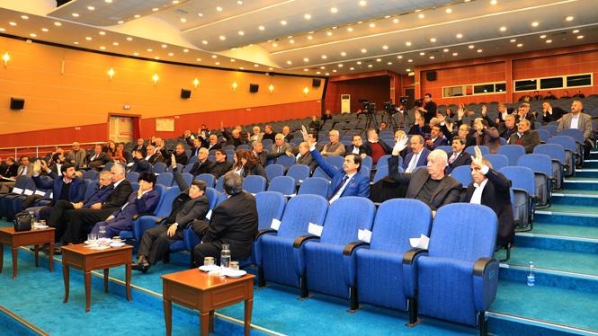 Mersin Büyükşehir Belediye Meclisi Toplandı, Toplantıda 33 Madde Görüşüldü