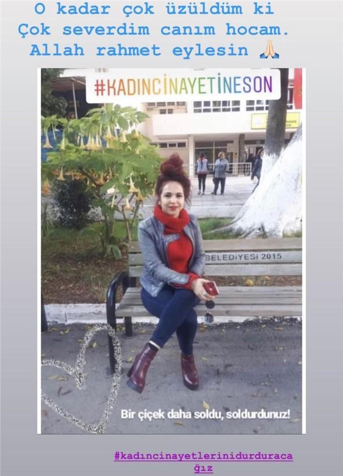 Mersin'de Kübra Aşkın İsimli Öğretmen Eski Kocası Tarafından Vurularak Öldürüldü