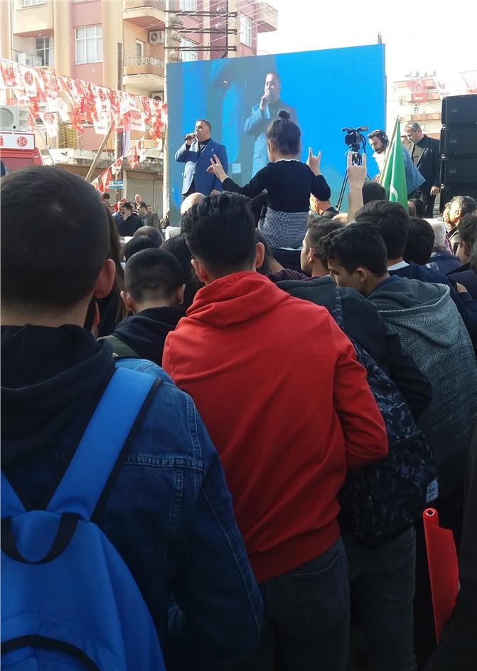 Cumhur İttifakı Tarsus'ta İlk Seçim Ofisini Coşkuyla Açtı
