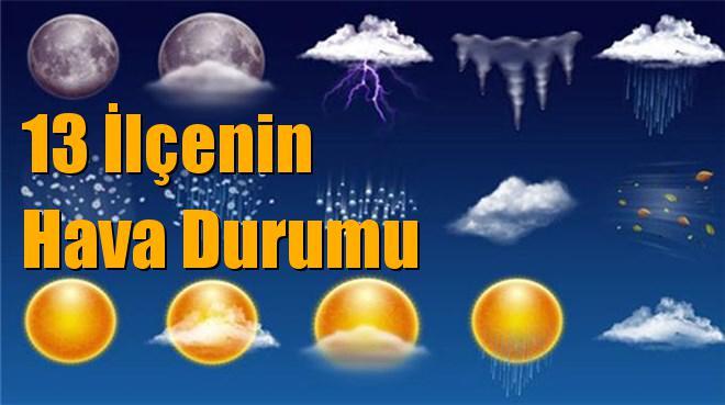Mersin Akdeniz, Mut, Mezitli, Tarsus, Silifke, Erdemli, Çamlıyayla, Aydıncık, Gülnar, Toroslar, Yenişehir, Anamur ve Bozyazı Hava Durumu