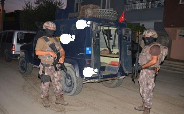 Mersin Tarsus'ta 15 Şubat Akşamı Eylem Yapan, Terör Örgütü Sempatizanı 14 Kişi Yakalandı