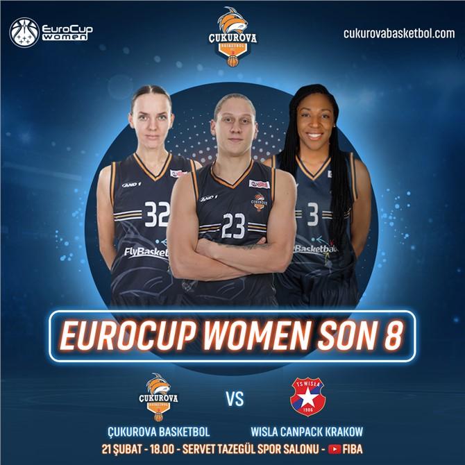 Çukurova Basketbol Çeyrek Final İçin, Polonyalı Rakibi Wisla Krakow Takımıyla Karşılaşacak
