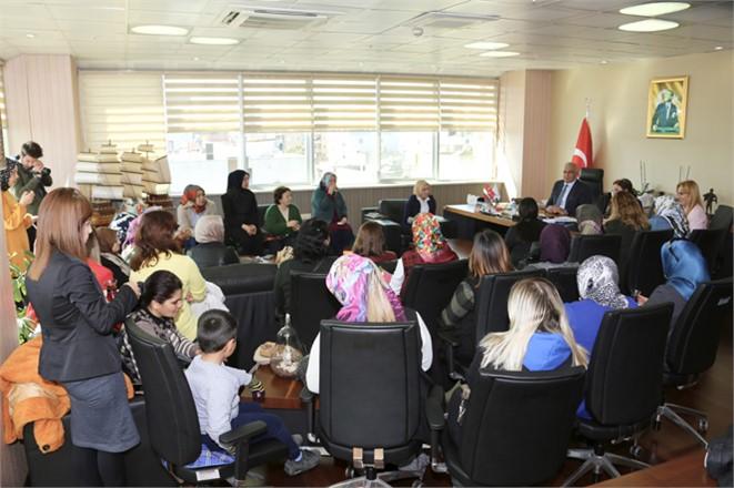 Cumhur İttifakı Kadınlarından Başkan Tollu'ya Ziyaret
