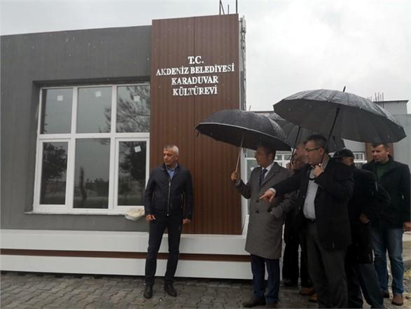 """Akdeniz Belediye Başkanı Pamuk; """"Karaduvar Mahallemize Çok Yakışacak"""""""