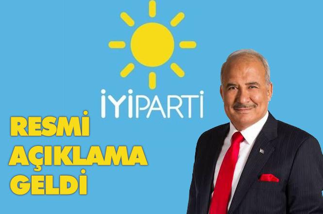 Burhanettin Kocamaz'ın Aday Durumuna İlişkin İYİ Parti'den Resmi Açıklama