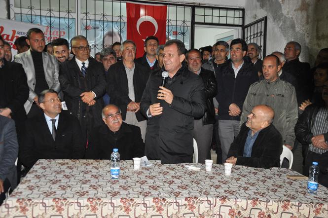 Mersin Büyükşehir Adayı Vahap Seçer'den Su Fiyatlarında İndirim Sözü