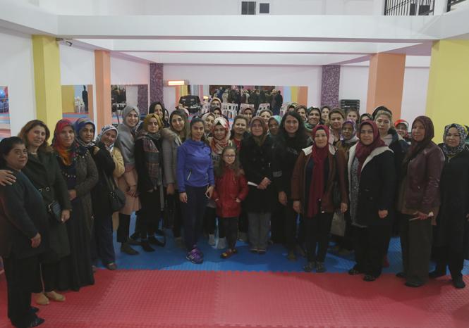 Erdemli Belediye Spor Merkezine Psikolog Desteği