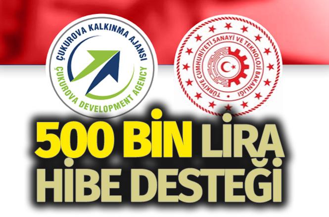 Çukurova Kalkınma Ajansı proje çağrısı, ÇKA'dan 500 Bin TL Hibe Desteği