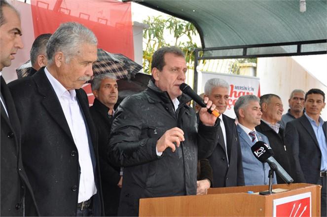 Aydıncık'ta Konuşan CHP'li Seçer, 'Bu Para Halkın Yararına Kullanılırsa Mersin Uçar'