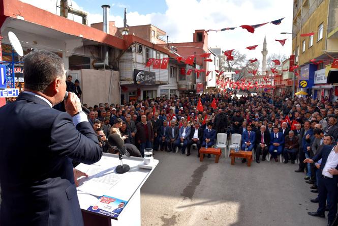 """Başkan Tuna; """"Beyaz Propagandamız ve Projelerimizle Meydanlardayız"""""""