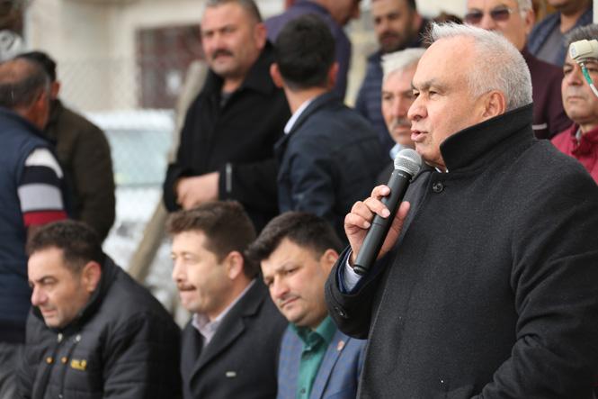 Erdemli Belediye Başkanı Tollu'dan Güneyli Mahallesine Ziyaret