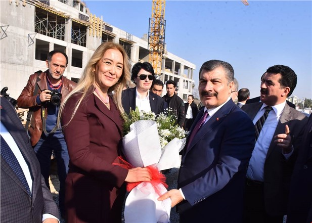 Sağlık Bakanı Dr. Fahrettin Koca Mersin'de