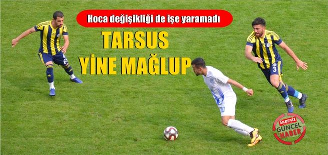 Maç Talihsiz Sonuçla Bitt, Tarsus İdmanyurdu 0- Tuzlaspor 3