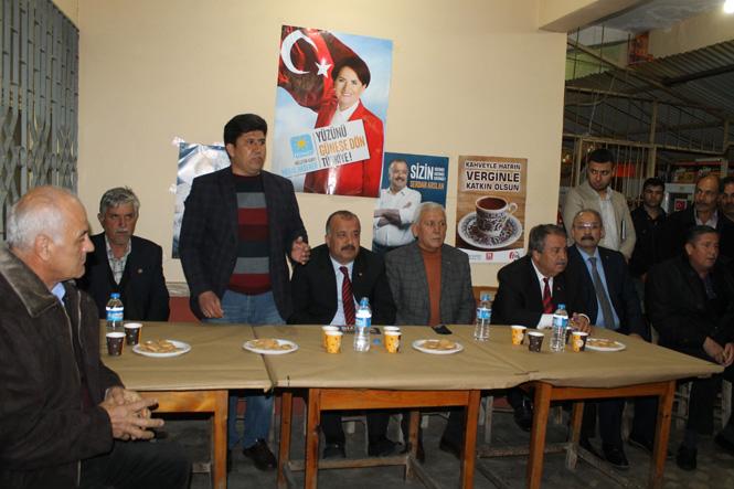 İyi Parti Erdemli Belediye Başkan Adayı Serdar Arslan, Yoğun Seçim Maratonunu Sürdürüyor.