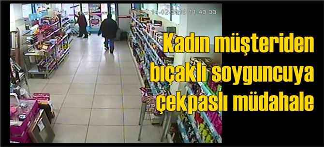 Mersin Tarsus'ta Zincir Marketin Şubesinde Hırsızlık Girişimi