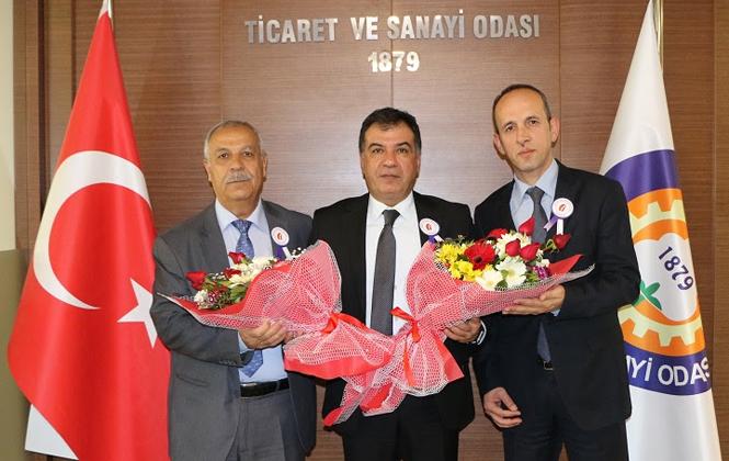 Şehitkerim ve Kızılmurat Vergi Dairesi Müdürlerinden TSO'ya Ziyaret
