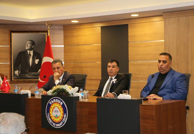 Cumhur İttifakı Mersin ve Tarsus Adayları TSO Yöneticileri Ve Üyeleriyle Bir Araya Geldi