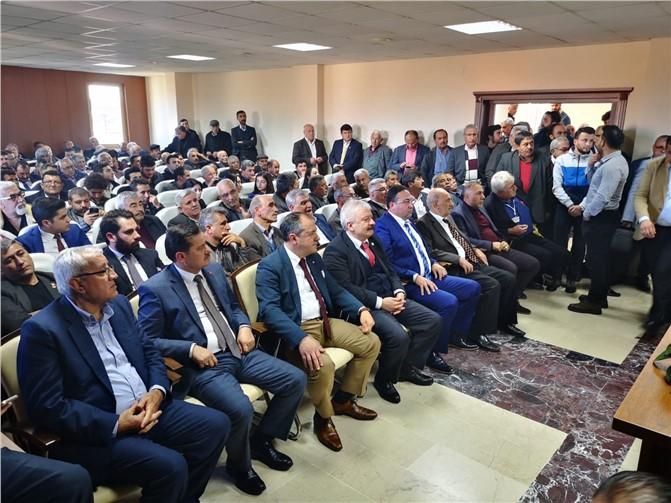 Tarsus Ziraat Odası Seçimini Tamamlandı Veyis Avcı 167 Oyun 93'ünü Alarak Kazandı