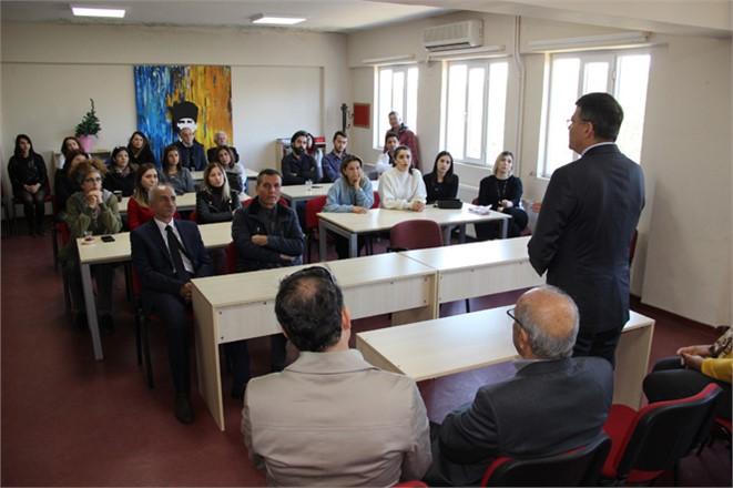 Silifke Belediye Başkanı Dr. Mustafa Turgut, Öğretmen ve Öğrencilerle Bir Araya Geldi