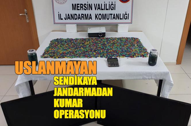 Mersin'de Sendika Binasına Kumar Operasyonu 37 Bin Lira Ceza Yazıldı