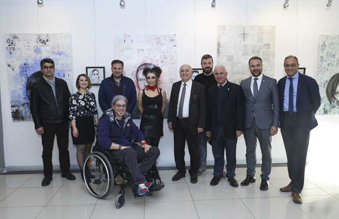 Ressam Bengisu Muazzez Kurtuluş, MTSO'da Portre Resim Sergisi Açtı