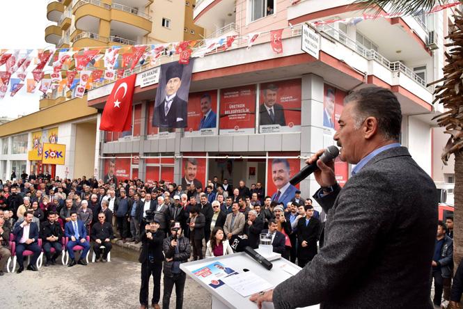 """Başkan Tuna; """"Anamur'da Tarım ve Turizm Kazanacak"""""""