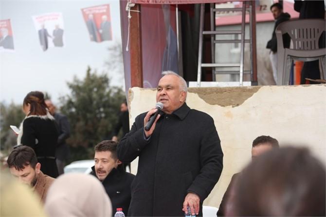 Erdemli Belediye Başkanı Tollu ''Ayinesi İştir Kişinin, Lafa Bakılmaz''