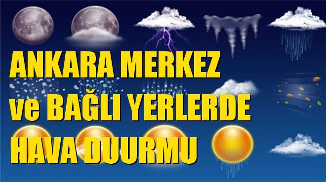 Ankara Mamak, Pursaklar, Mürted Havalimanı, Yenimahalle, Gölbaşı, Evren, Nallıhan, Polatlı Hava Durumları