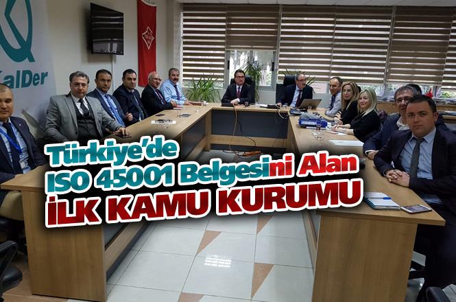Mersin Büyükşehir Belediyesi, ISO 45001 Belgesini Almaya Hak Kazandı