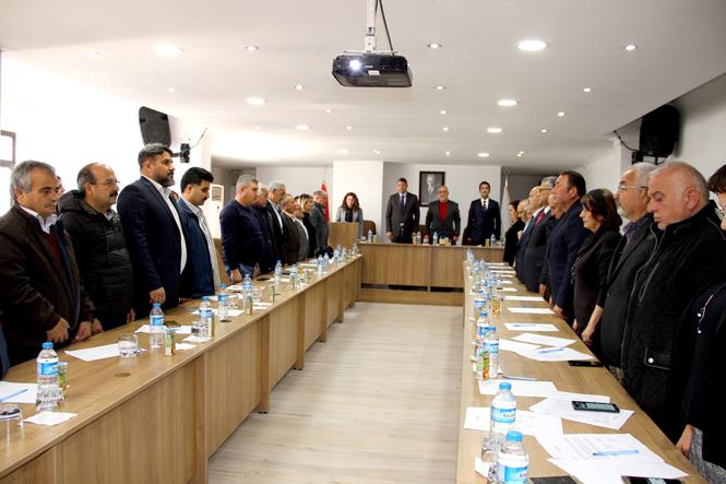 Mersin Silifke'de Yerel Seçimler Öncesi Son Meclis Toplantısı Yapıldı