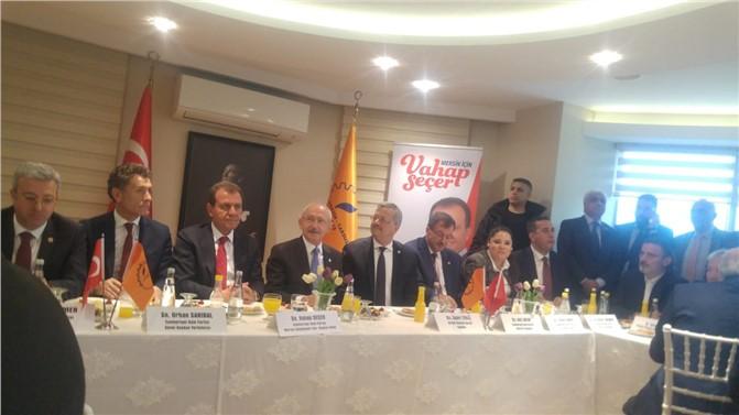 CHP Genel Başkanı Kılıçdaroğlu, MTOSB Ziyaretinde Konuştu ''Demokrasi Hepimize Lazım''