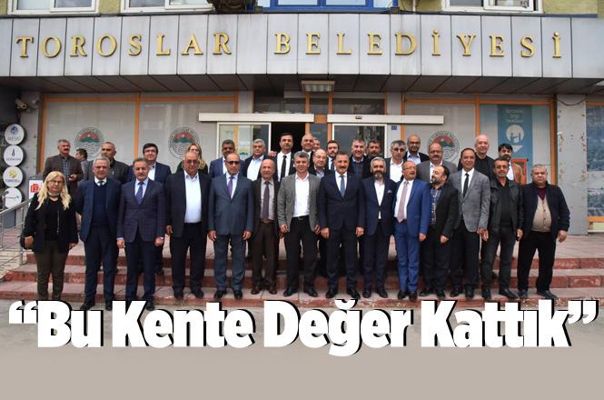 """Son Meclis Toplantısında Konuşan Başkan Hamit Tuna; """"Bu Kente Değer Kattık"""""""