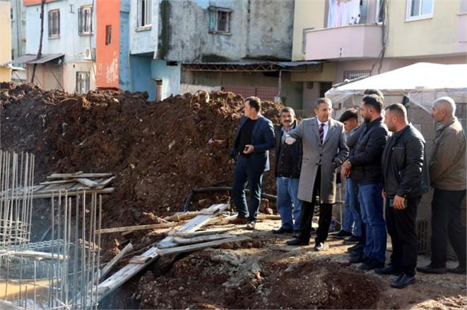 Akdeniz Belediye BaşkanıPamuk, Mahalle Ziyaretlerini Sürdürüyor