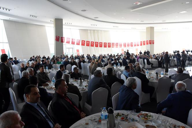 Başkan Can, Bilgilendirme Toplantısı Yaptı