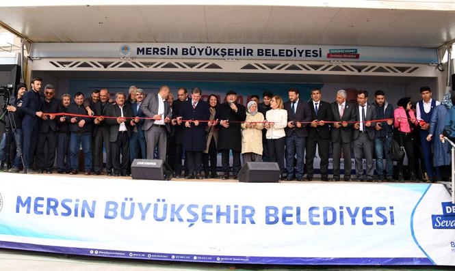 Gülnar MESKİ Teknik Hizmetler Yerleşkesi Açıldı