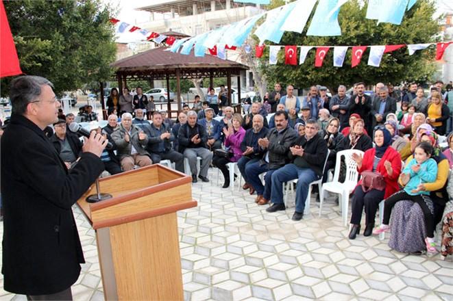 Toros Mahallesi Muhtar Evi Hizmete Açıldı
