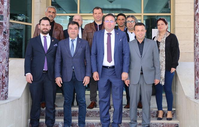 TSO Heyetinden, Tarsus Ziraat Odası Yeni Başkanı Veyis Avcı ve Yönetimine Hayırlı Olsun Ziyareti