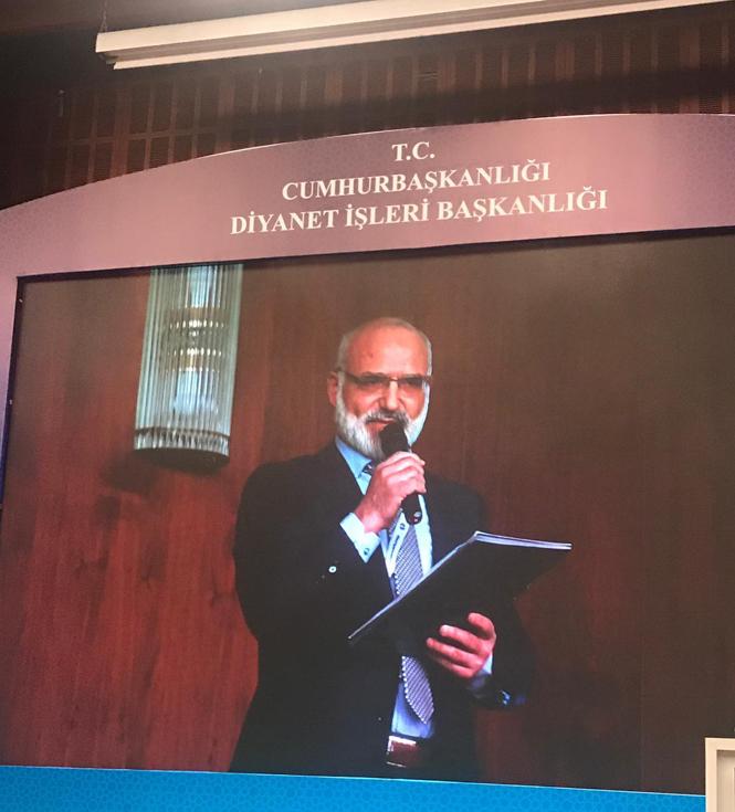 Tarsus Müftüsü Dr.Hayri Erenay 3. İlçe Müftüleri Kongresinde Sunum Yaptı